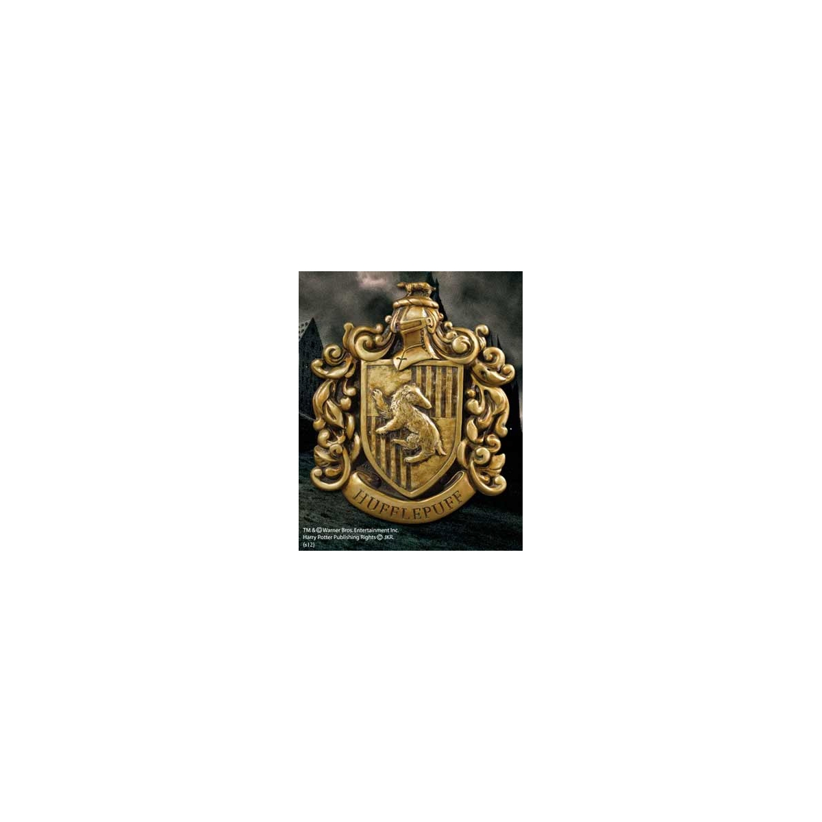 Harry potter d coration murale hufflepuff house crest 21 for Decoration murale harry potter