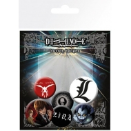 Death Note - Pack 6 badges Mix