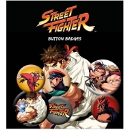 Street Fighter - Pack 6 badges Mix