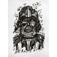Star Wars - Poster en métal Darth Vader 32 x 45 cm