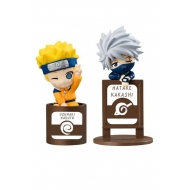 Naruto - Pack 2 trading figurines Ochatomo Series Kakashi & I JS Set 5 cm