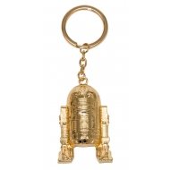 Star Wars Episode VIII - Porte-clés métal Golden R2-D2