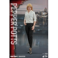 Iron Man 3 - Figurine Movie Masterpiece 1/6 Pepper Potts 28 cm