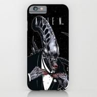 Alien - Coque iPhone 6 Tuxedo