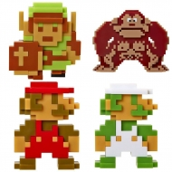 Nintendo - Pack 5 figurines Vinyl 6 cm Retro 8-Bit