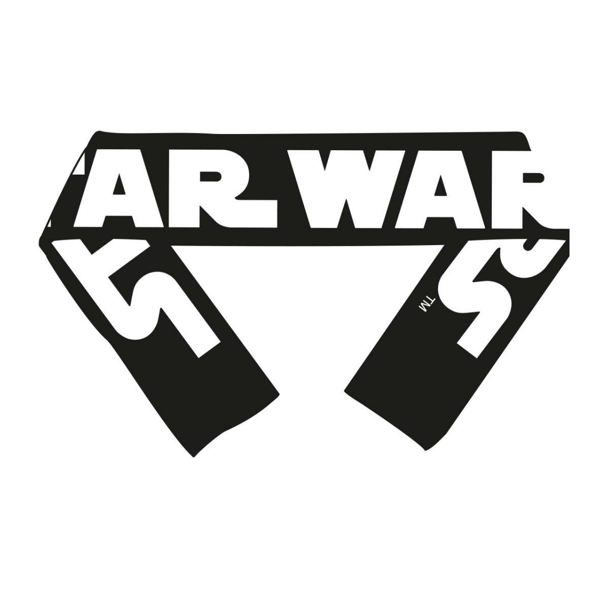 star wars episode viii echarpe classic logo figurine
