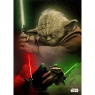 Star Wars - Poster en métal Yoda 32 x 45 cm
