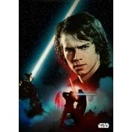 Star Wars - Poster en métal Anakin Duel 32 x 45 cm
