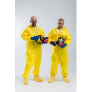 Breaking Bad - Figurines 1/6 Heisenberg & Jesse Pinkman Hazmat Suit 30 cm