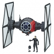 Star Wars Episode VIII - Véhicule avec figurine First Order Special Forces TIE Fighter