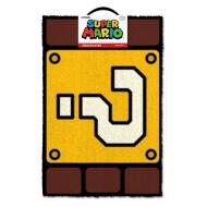 Super Mario - Paillasson Question Mark Block 40 x 60 cm