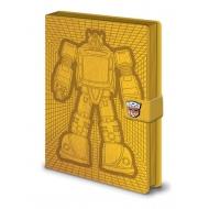 Transformers  G1 - Carnet de notes Premium A5 Bumblebee