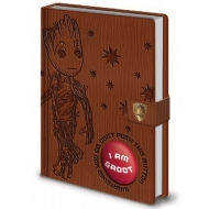 Les Gardiens de la Galaxie Vol. 2 - Carnet de notes sonore Premium A5 I Am Groot