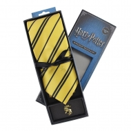 Harry Potter - Set cravate & badge Hufflepuff