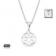 Star Wars - Collier argent Galactic Empire Symbol 46 cm