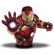 Avengers L'Ère d'Ultron - Buste tirelire Iron Man 20 cm