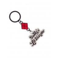 Suicide Squad - Porte-clés métal Daddy's Lil Monster 5 cm
