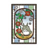 Mon voisin Totoro - Puzzle acrylique Art Crystal Blooming Camellia