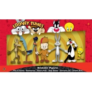 Looney Tunes - Pack 6 figurines flexibles