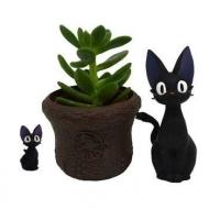 Kiki la petite sorcière - Pot à fleurs Jiji & Basket 8 cm
