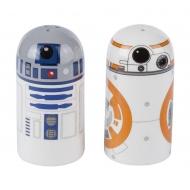 Star Wars - Salière et poivrière R2-D2 & BB-8