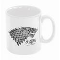 Game of Thrones - Mug en céramique de Stark Winter is Coming Blanc