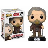 Star Wars Episode VIII - Figurine POP! Bobble Head Luke Skywalker 9 cm