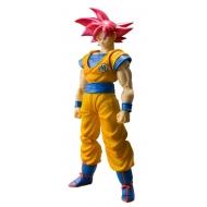 Dragon Ball Super - Figurine S.H. Figuarts SSGSS Son Goku Tamashii Web Exclusive 14 cm