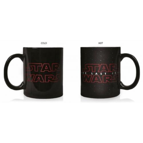 star wars episode viii mug effet thermique logo. Black Bedroom Furniture Sets. Home Design Ideas