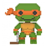 Tortues Ninja - Les  8-Bit POP! Vinyl Figurine Michelangelo 9 cm