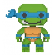 Les Tortues Ninja - Figurine POP! 8-Bit Leonardo 9 cm