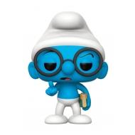 Les Schtroumpfs - Figurine POP! Brainy Smurf 9 cm