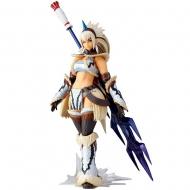 Monster Hunter X - Figurine Vulcanlog Monhan Revo Hunter Swordswoman Kirin Series 16 cm
