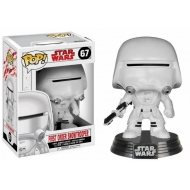 Star Wars Episode VIII - Figurine POP! Bobble Head First Order Snowtrooper 9 cm