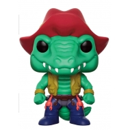 Les Tortues Ninja - Figurine POP! Leatherhead 9 cm