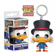 Disney - La Bande a Picsou porte-cles Pocket POP! Vinyl Scrooge McDuck 4 cm
