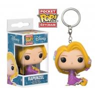Disney - Princesses porte-cles Pocket POP! Vinyl Rapunzel 4 cm
