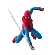 Spider-Man - Homecoming figurine S.H. Figuarts  Homesuit & Option Act Wall 15 cm
