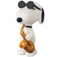 Snoopy - Mini figurine Medicom UDF serie 5 Saxophone Player Snoopy 7 cm