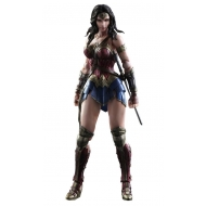 Batman vs Superman Dawn of Justice - Figurine Play Arts Kai Wonder Woman 25 cm