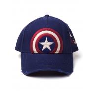 Marvel Comics - Casquette Snap Back Vintage Captain America