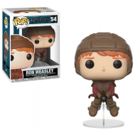 Harry Potter - Figurine POP! Ron on Broom 9 cm