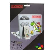 Super Nintendo - Set 17 autocollants Super Nintendo