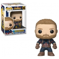 Avengers Infinity War - Figurine POP! Captain America 9 cm