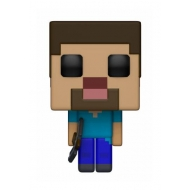 Minecraft - POP! Games Vinyl figurine Steve 9 cm