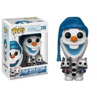 La Reine des neiges Joyeuses Fêtes avec Olaf - Figurine POP! Olaf 9 cm