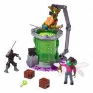 Tortues Ninja - Les  Mega Bloks jeu de construction Baxter Mutation Lab