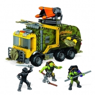 Tortues Ninja - Les  Mega Bloks jeu de construction Battle Truck