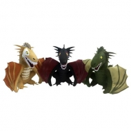 Game of Thrones - Set 3 peluches Dragons 2017 SDCC Convention Exclusive 13 cm