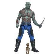 Les Gardiens de la Galaxie Vol 2  - Select figurine Drax & Baby Groot 18 cm